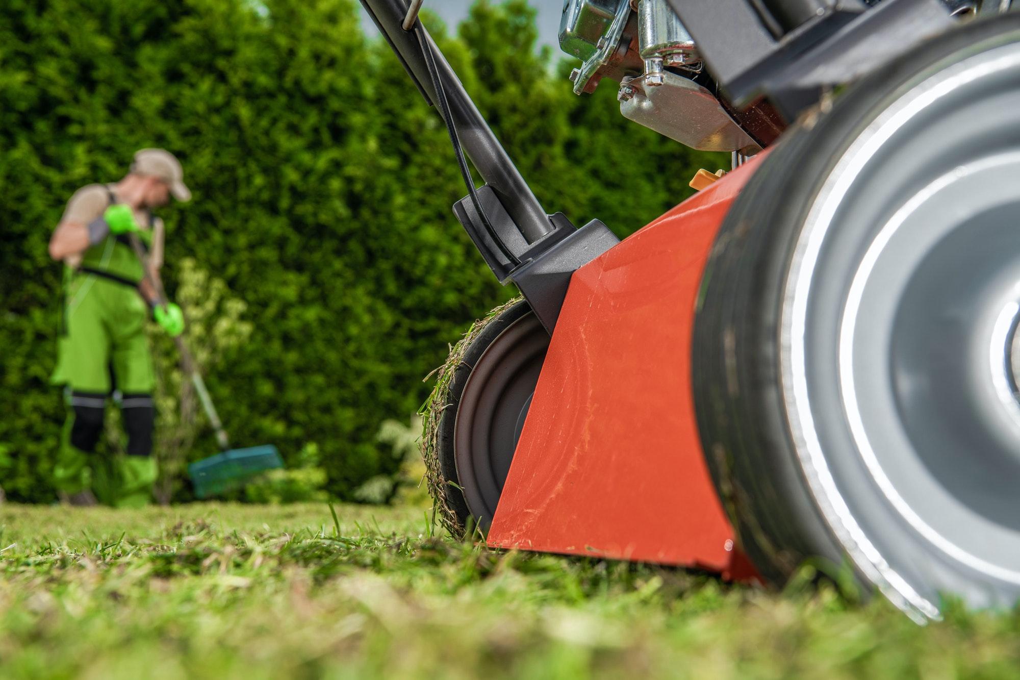 Gardening Power Equipment and Gardener Job